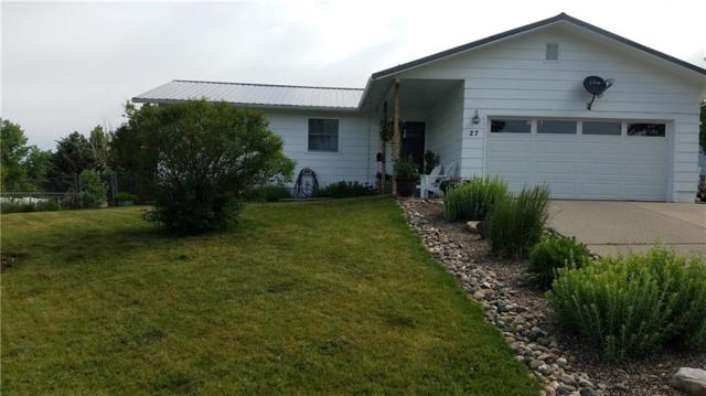 27 Juniper Dr, Other-See Remarks, MT 59323 (MLS #286042) :: Search Billings Real Estate Group