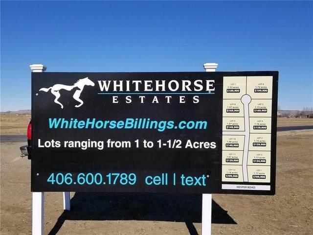 4 Secretariat Lot 4, Billings, MT 59106 (MLS #302892) :: Search Billings Real Estate Group