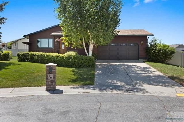 20 Sunset Drive, Billings, MT 59105 (MLS #319864) :: MK Realty