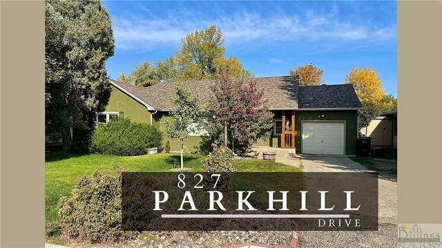 827 Parkhill Drive, Billings, MT 59102 (MLS #323157) :: The Ashley Delp Team
