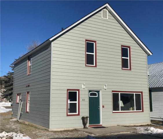 413 Villard Avenue S, Red Lodge, MT 59068 (MLS #282089) :: Realty Billings