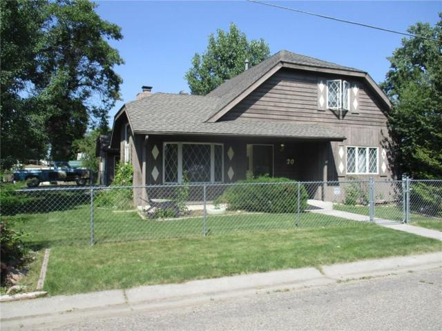 20 N Lewis Avenue, Hardin, MT 59034 (MLS #283463) :: Realty Billings