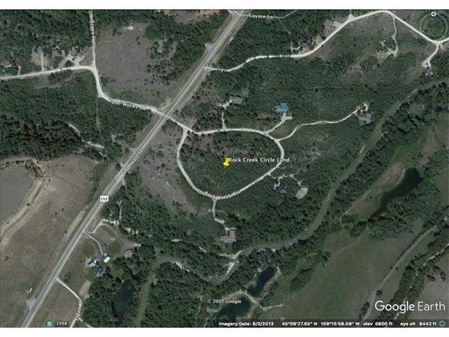 NHN Rock Creek Circle, Red Lodge, MT 59068 (MLS #274974) :: Realty Billings