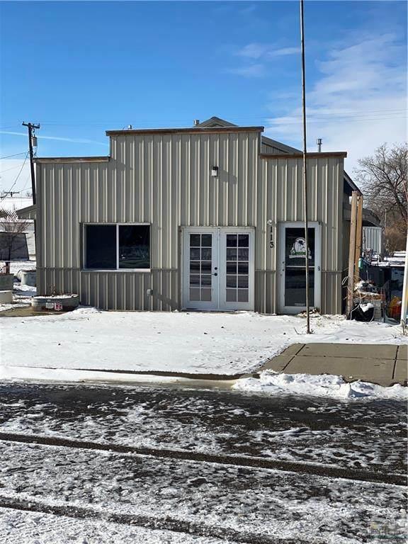 113 Main Street, Lavina, MT 59046 (MLS #313245) :: Search Billings Real Estate Group