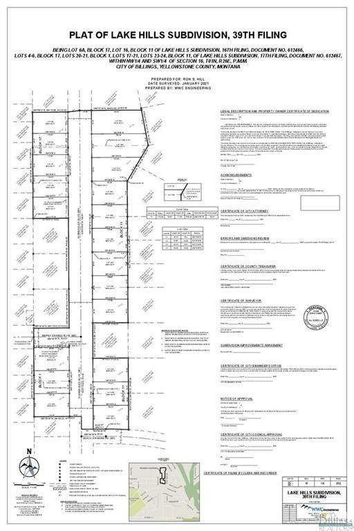 1989 Gleneagles Boulevard, Billings, MT 59105 (MLS #321872) :: Search Billings Real Estate Group
