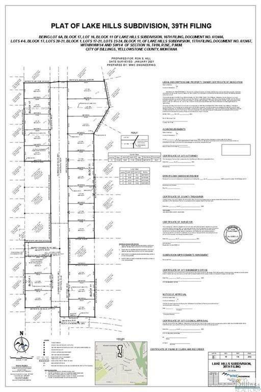 2103 Gleneagles Boulevard, Billings, MT 59105 (MLS #321907) :: The Ashley Delp Team