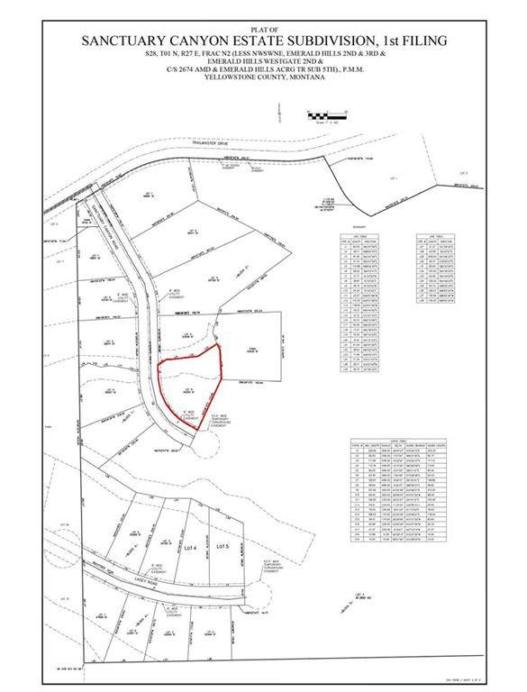 Lot 5 Blk 2 Sanctuary Canyon Rd, Billings, MT 59101 (MLS #301228) :: Search Billings Real Estate Group