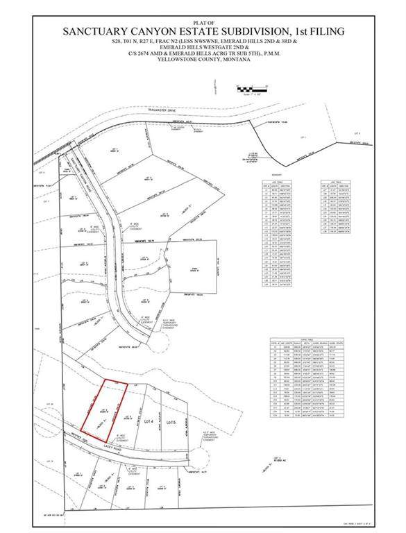 Lot 2 Blk 3 Lacey Rd, Billings, MT 59101 (MLS #301229) :: Search Billings Real Estate Group