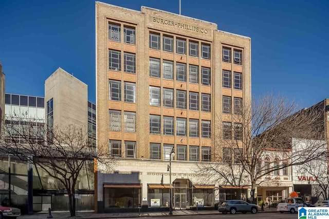 1914 3RD AVE N #407, Birmingham, AL 35203 (MLS #1275676) :: Bailey Real Estate Group