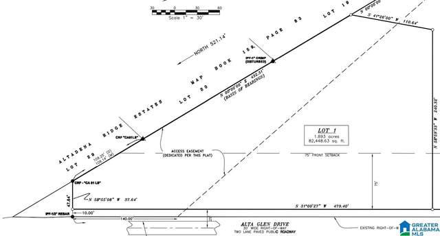 2661 Alta Glen Dr Lot 1 Knight's , Birmingham, AL 35243 (MLS #1276691) :: Gusty Gulas Group