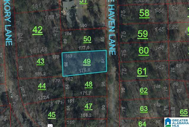 0 Pine Haven Lane #153, Talladega, AL 35160 (MLS #1292572) :: JWRE Powered by JPAR Coast & County