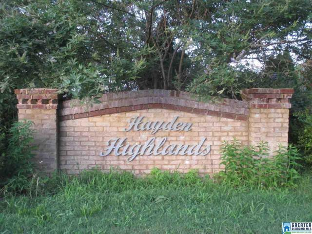 Hidden Highlands Dr 17 Acres, Warrior, AL 35180 (MLS #786191) :: LIST Birmingham