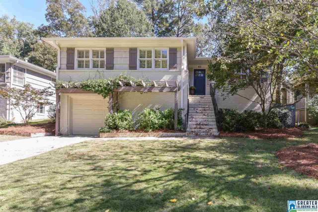 431 Cliff Pl, Homewood, AL 35209 (MLS #798583) :: RE/MAX Advantage