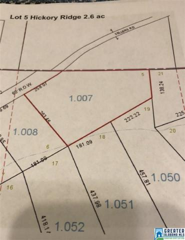 Lot 5 Sellers Rd Lot 5, Dora, AL 35062 (MLS #807262) :: Brik Realty