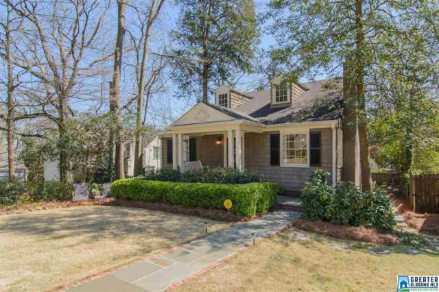 711 Braddock Ave, Mountain Brook, AL 35213 (MLS #810258) :: Howard Whatley