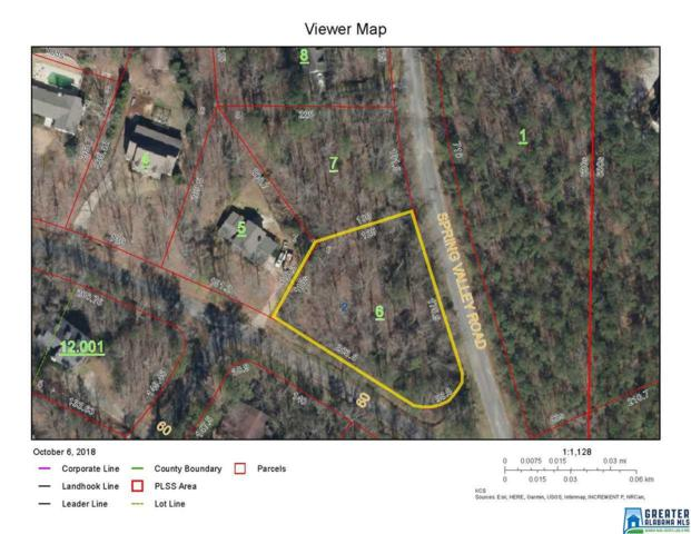 00 Spring Valley Ln 1 Lot, Sylacauga, AL 35150 (MLS #830831) :: LIST Birmingham