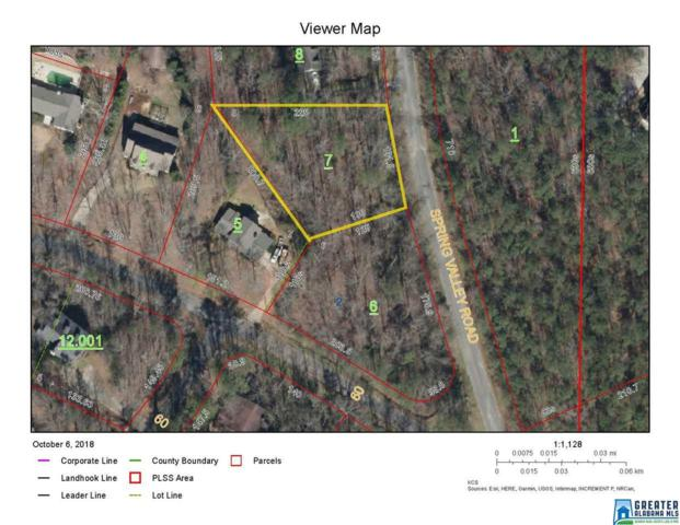 01 Spring Valley Ln 1 Lot, Sylacauga, AL 35150 (MLS #830832) :: LIST Birmingham