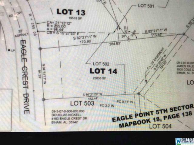 LOT#14 Eagle Crest Ln #14, Birmingham, AL 35244 (MLS #853556) :: Gusty Gulas Group