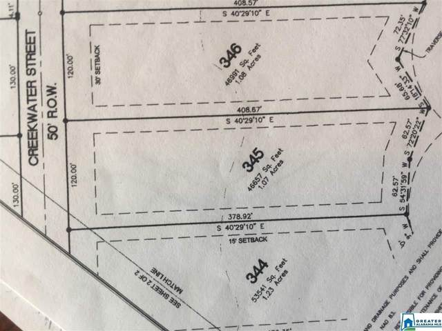 345 Creekwater St Lot 345, Helena, AL 35080 (MLS #893386) :: Josh Vernon Group