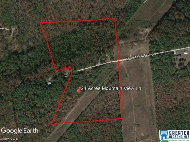 1026 Mountain View Ln 24 Acres, West Blocton, AL 35184 (MLS #816427) :: LIST Birmingham