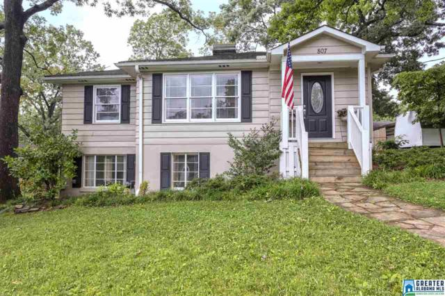 807 Forest Dr, Homewood, AL 35209 (MLS #819871) :: Jason Secor Real Estate Advisors at Keller Williams
