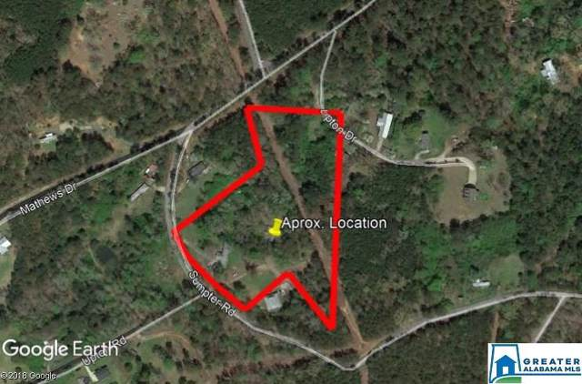 8945 Sumpter Rd 4.3Acres, Adger, AL 35006 (MLS #846013) :: Sargent McDonald Team