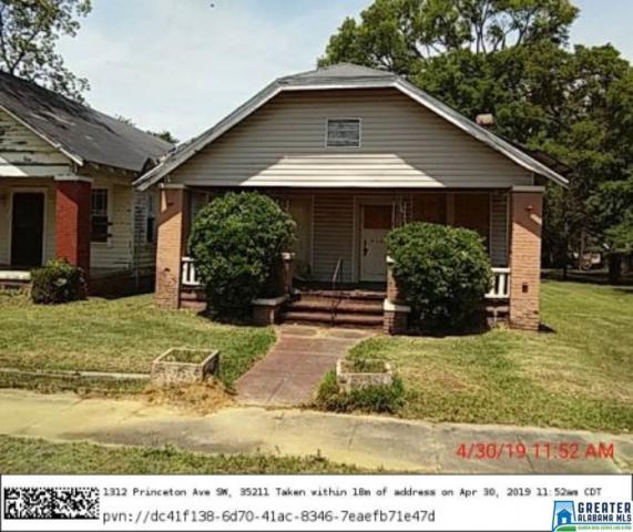 1312 Princeton Ave SW, Birmingham, AL 35211 (MLS #855695) :: LocAL Realty