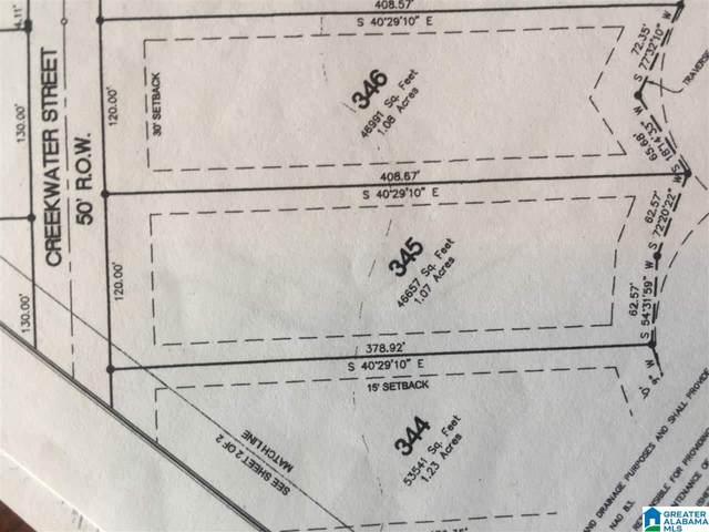 345 Creekwater St Lot 345, Helena, AL 35080 (MLS #893386) :: Gusty Gulas Group