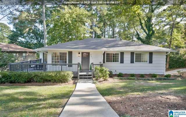 401 Crest Drive, Homewood, AL 35209 (MLS #1301196) :: Howard Whatley