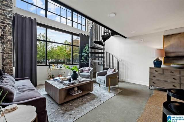 1801 2ND AVENUE N #104, Birmingham, AL 35203 (MLS #1283442) :: Lux Home Group