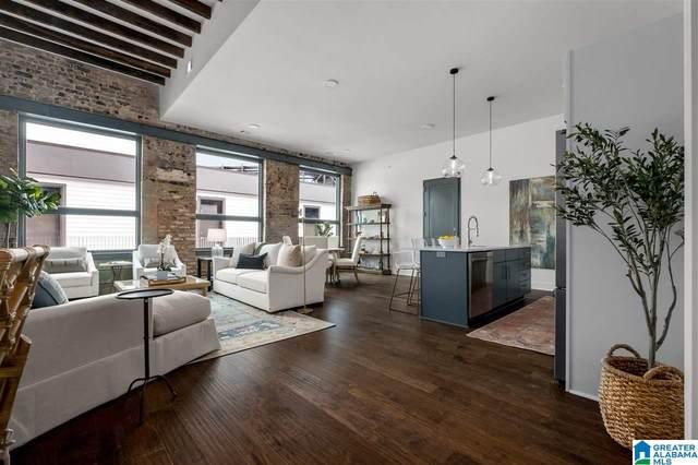 1801 2ND AVENUE N #414, Birmingham, AL 35203 (MLS #1279208) :: Lux Home Group