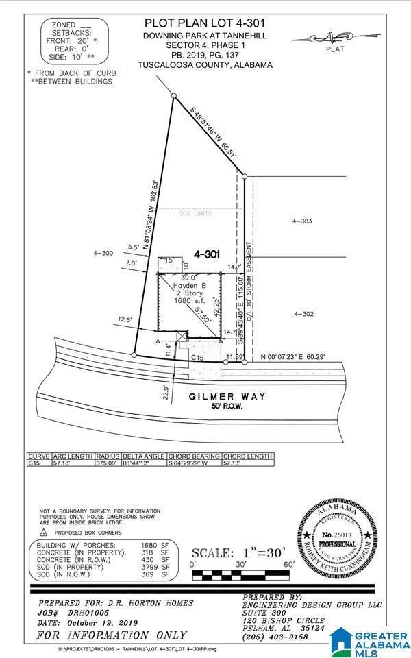 12611 Gilmer Way, Mccalla, AL 35111 (MLS #1273519) :: Bentley Drozdowicz Group