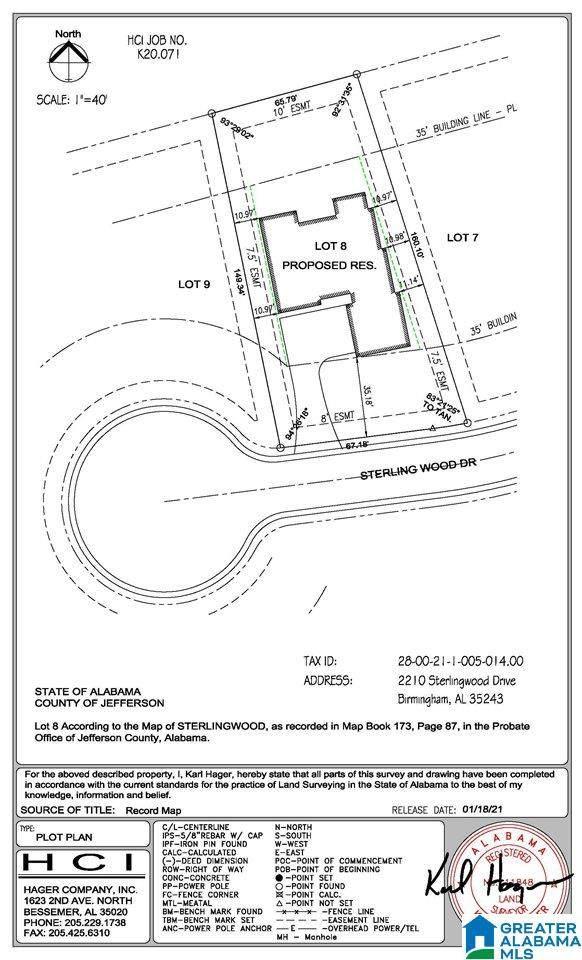 2210 Sterlingwood Drive Lot 8, Mountain Brook, AL 35243 (MLS #1289905) :: Lux Home Group