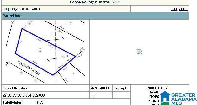 lot 1 Deer Path Lot 1 Block B U, Sylacauga, AL 35151 (MLS #1290989) :: Lux Home Group