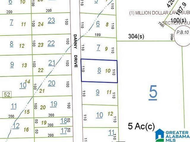 0 Danny Drive #0, Mccalla, AL 35111 (MLS #1294039) :: LIST Birmingham