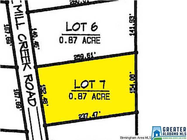 Lot 7 Mill Creek Rd #7, Nauvoo, AL 35578 (MLS #793233) :: Josh Vernon Group