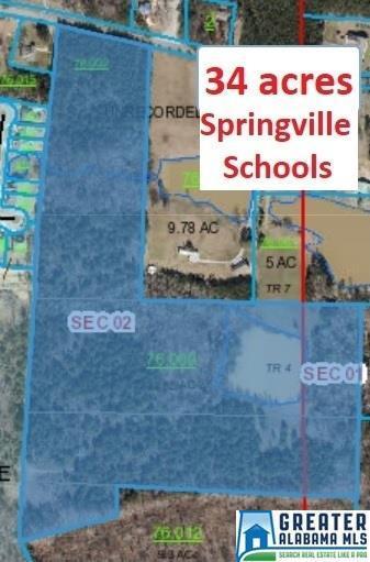 00 Hwy 23 34 Acres, Springville, AL 35146 (MLS #798471) :: Howard Whatley