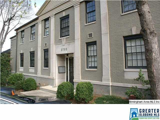 2705 11TH AVE S #201, Birmingham, AL 35205 (MLS #821367) :: LIST Birmingham