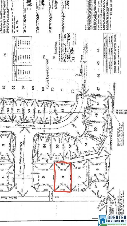 3405 Eddins Rd Lot 6, Tuscaloosa, AL 35401 (MLS #857188) :: LocAL Realty
