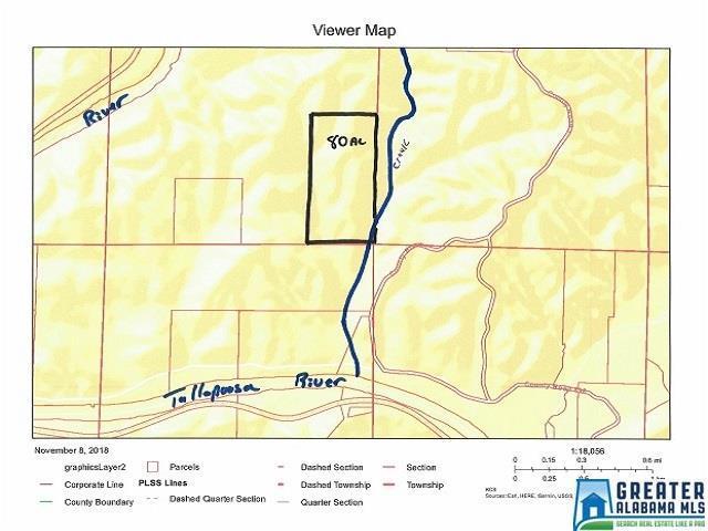 Co Rd 1 80 Acres, Wedowee, AL 36276 (MLS #833034) :: Josh Vernon Group