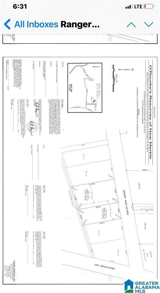 3149 Ranger Road Lot 1, Vestavia Hills, AL 35223 (MLS #1288497) :: Lux Home Group
