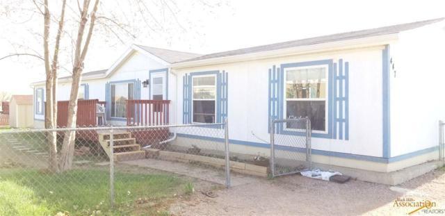 447 Hauck Av, Box Elder, SD 57719 (MLS #138841) :: Christians Team Real Estate, Inc.