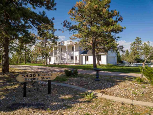 5420 Pinedale Heights Dr, Rapid City, SD 57702 (MLS #140427) :: Christians Team Real Estate, Inc.