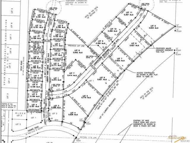 Lot 5 Block 4 Prairie Rd, Box Elder, SD 57719 (MLS #142079) :: VIP Properties