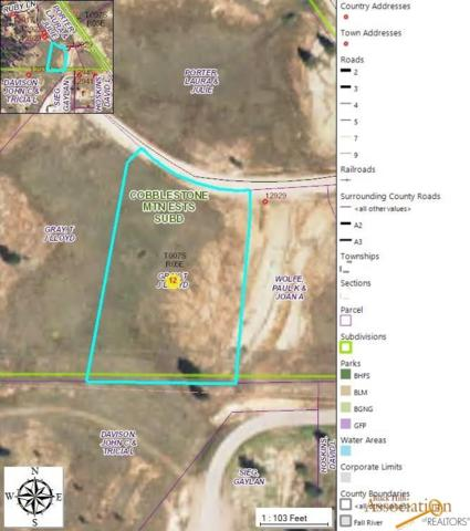 Lot 55 Sapphire Ln, Hot Springs, SD 57747 (MLS #142529) :: Christians Team Real Estate, Inc.