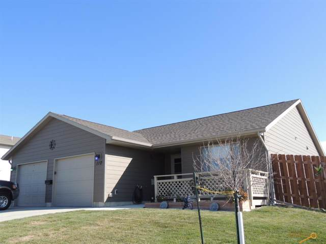 110 Maxwell Dr, Box Elder, SD 57719 (MLS #146346) :: Heidrich Real Estate Team