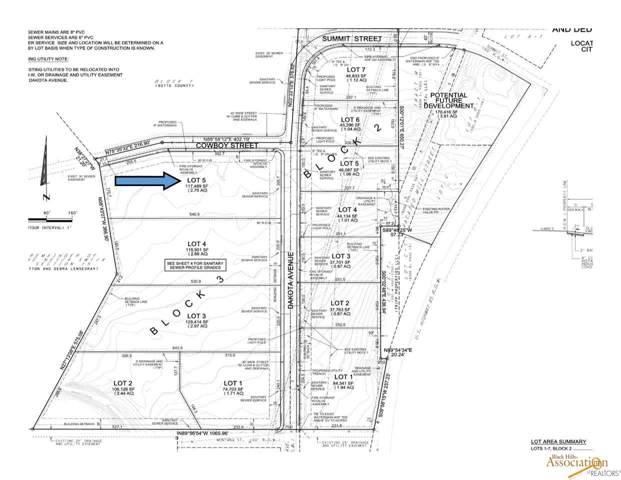 TBD Cowboy Ln, Belle Fourche, SD 57717 (MLS #146593) :: Christians Team Real Estate, Inc.