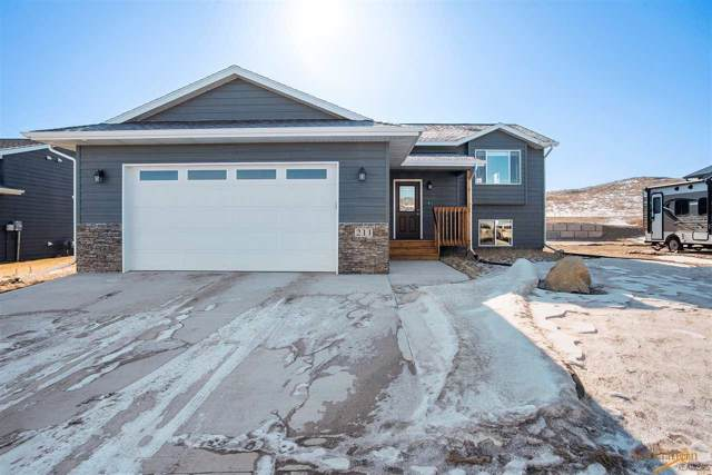 211 Giants Dr, Rapid City, SD 57701 (MLS #147329) :: Dupont Real Estate Inc.