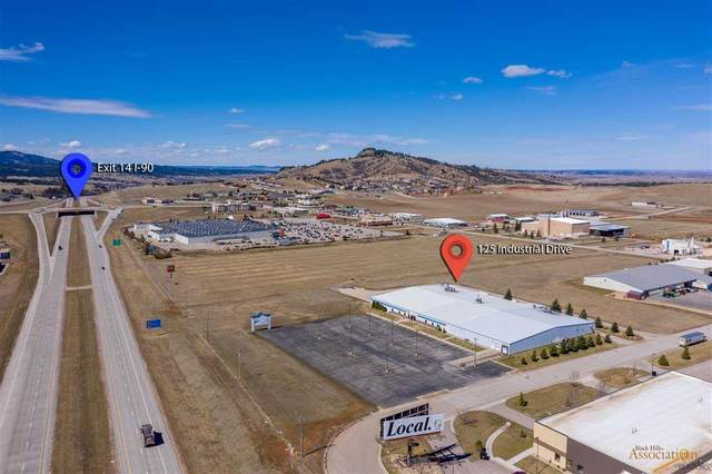125 Industrial Dr, Spearfish, SD 57783 (MLS #148922) :: VIP Properties