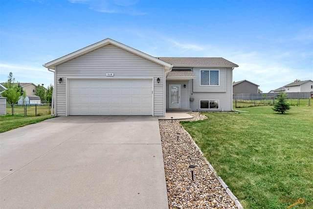 319 Freiheit Ln, Box Elder, SD 57719 (MLS #150642) :: Heidrich Real Estate Team